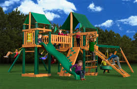 Costco Play Structure Furniture Pioneer Peak Supreme Cg Swingset By Gorilla Playsets