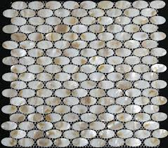 Mosaic Tile Backsplash Kitchen Ideas Decorating Pearlescent Mosaic Tiles Mother Of Pearl Tile