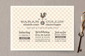Classic Wedding Invitations Country Classic Wedding Invitations By Laura Hanki Minted