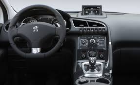 peugeot 3008 interior peugeot to debut diesel hybrid crossover at paris auto show car