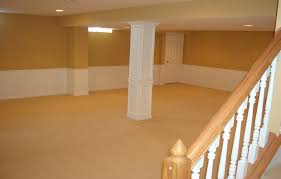 bright and modern painted basement floors painting floor