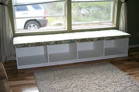 Bench With Storage Baskets by Bay Window Seating Bench With Storageashley Furniture Storage Seat