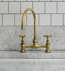 brass kitchen faucets 5 favorites brass faucets for the kitchen remodelista