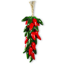 sunland home decor coupon ceramic red and green jalapeno chili ristra