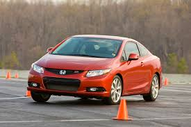 Honda Civic Si Two Door Honda Civic Si Coupe Affordable Performer New On Wheels