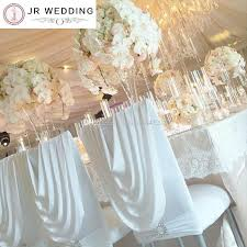 spandex chiavari chair cover with valance at back lycra valance