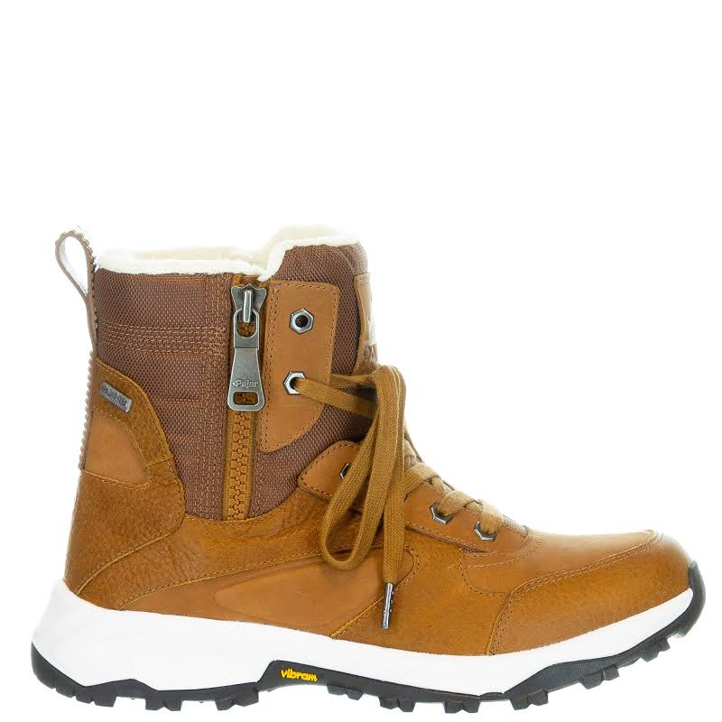 Pajar TORETTO Leather Waterproof Winter Boots Brown 41 EU/8-8.5 US