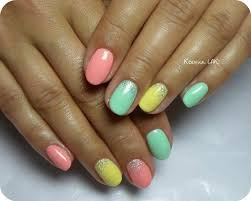 19 best nail art images on pinterest spring nails bright nails
