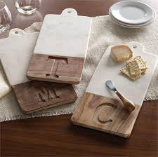 mud pie cutting boards marble wood initial cutting board southern crossing