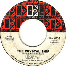 You Light My Fire 45cat The Doors Light My Fire The Crystal Ship Elektra