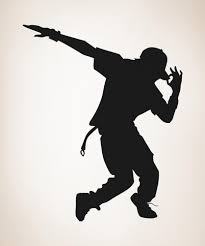 vinyl wall decal sticker hip hop dancer os aa1192