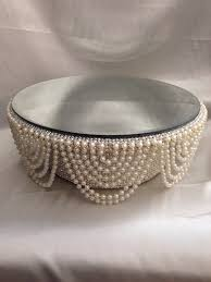 wedding cake stands for sale pearl and crystals drape design wedding cake stand