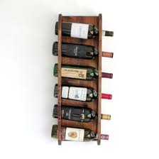 buy a hand crafted wall mounted wine rack vertical wine rack holds