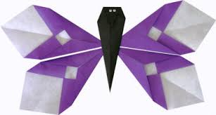 Origami Paper Works - origami butterfly