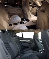 porsche panamera 2017 interior 2017 porsche panamera vs 2014 porsche panamera rear seats