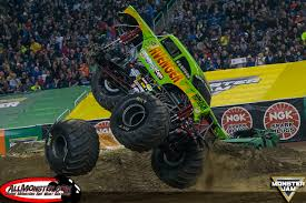 monster truck show in michigan adam anderson clinches monster jam fs1 championship series in