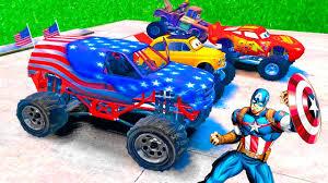 toy monster truck videos for kids monster trucks videos for kids disney cars lightning mcqueen