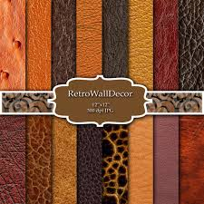 leather scrap book digital leather set of paper leather textures leather backgrounds