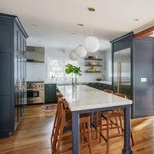 sherwin williams navy blue kitchen cabinets navy blue kitchen renovation home bunch interior design ideas