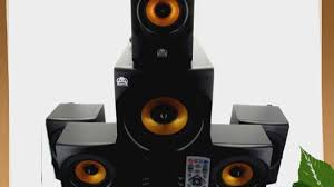 durabrand home theater system acoustic audio aa5170 home theater 5 1 bluetooth speaker system
