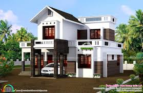 Square House Floor Plans 2260 Square Feet New Home Design Kerala Home Design And Floor