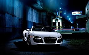 white audi r8 wallpaper audi r8 v10 white car tuning wallpaper 1680x1050 15924