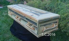 pine coffin affordable handmade pine caskets