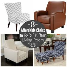 Affordable Chairs To Rock Your Living Room Finding Zest - Affordable chairs for living room