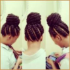 black hair buns braided bun hairstyles for black hair hairstyles website number