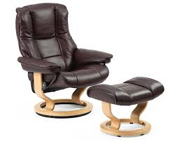 Recliner With Ottoman Stressless Mayfair Recliner With Ottoman L Lowest Prices