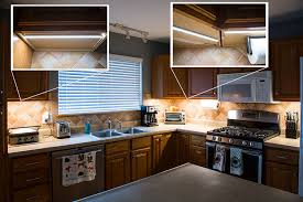 Led Lighting For Under Kitchen Cabinets Slim Aluminum Profile Housing For Led Strip Lights Anodized