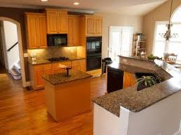 paint or stain kitchen cabinets home design