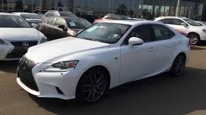 isf lexus 2015 2015 lexus is 250 awd f sport review youtube