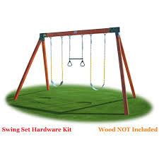 eastern jungle gym classic a frame swing set hardware kit hayneedle