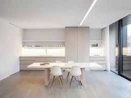 modern day kitchen obumex present day kitchen white dining table interior