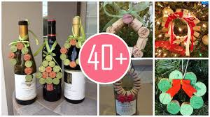 diy christmas wine cork wreath ornament for 2015 from lovefahion