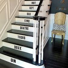 stair number stickers number stickers vinyl wall stickers and