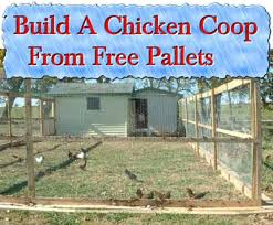 Build A Hutch Build A Rabbit Hutch From Old Pallets