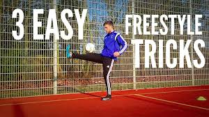 3 easy freestyle soccer tricks for beginners youtube