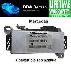 lexus convertible repair mercedes convertible top module repair bba reman us shop