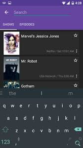 androids tv show track tv show episodes using series guide app