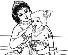 krishna stealing butter hare krishna kids