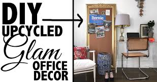 home decor youtube diy upcycled office decor home decor youtube