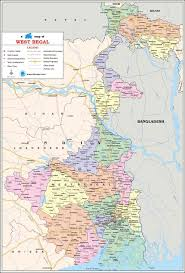 Map Of India Cities West Bengal Travel Map West Bengal State Map With Districts