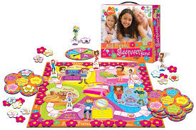amazon com best friends sleepover board game toys u0026 games