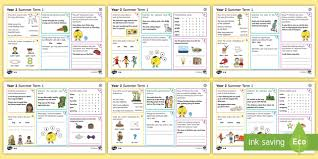 year 2 summer term 1 spag activity mats ks1 key stage 1 key