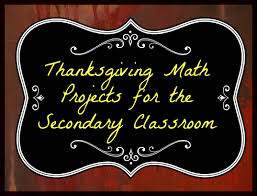 Thanksgiving Math A Texan American Way Of Life Thanksgiving Math Projects For The