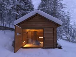 Small Mountain Cabin Plans Small Wood Clad Mountain Cabin In Italy