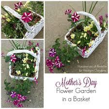 Mother S Day Flower Mother U0027s Day Flower Garden In A Basket Western Garden Centers