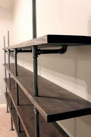 How To Make A Pipe Bookshelf Diy Industrial Shelves Gray House Studio